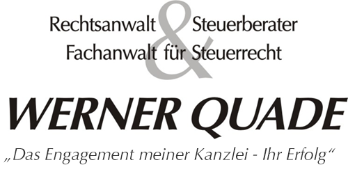 Rechtsanwalt und Steuerberater Werner Quade
